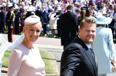 James Corden At The Royal Wedding