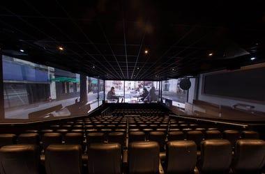 Movie Theater, ScreenX, Empty