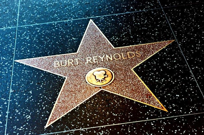 Burt Reynolds Star on the Hollywood Walk of Fame