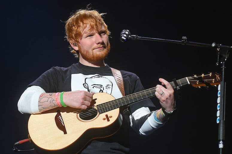 Ed Sheeran, Concert, Pittsburgh, Mac Miller Shirt, 2018