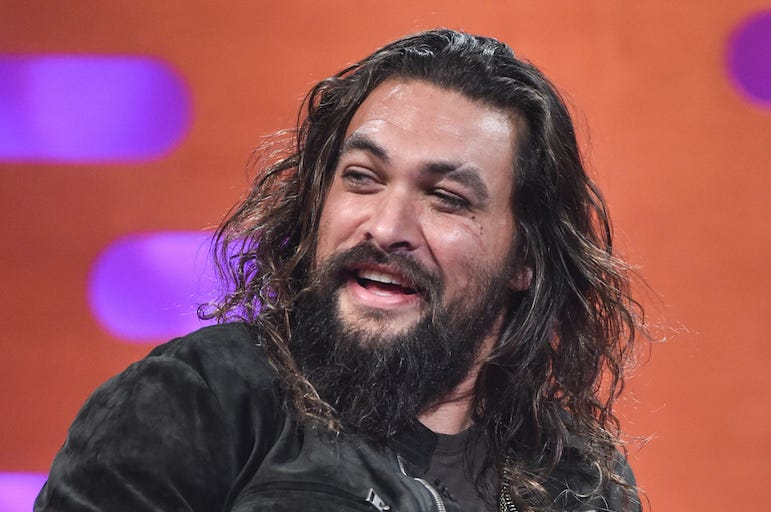 Jason Momoa, Interview, Graham Norton Show, 2018