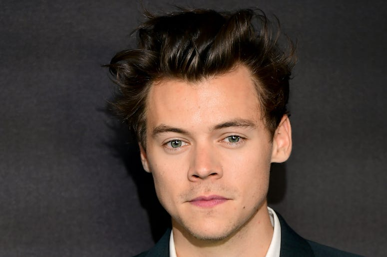 Harry Styles, Red Carpet, One Direction, Stare, Hair, 2017
