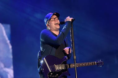 Patrick Stump Sings At Fallout Boy Concert