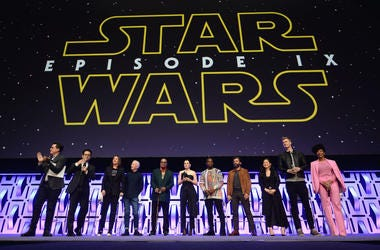 Cast of Star Wars: The Rise Of Skywalker