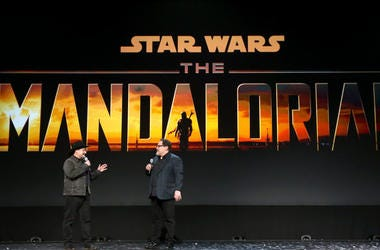 Dave Filoni and Jon Favreau