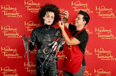 Edward Scissorhands wax figure