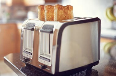 Toast, Bread, Toaster, Kitchen