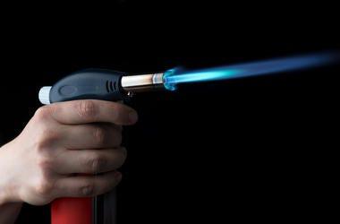 Blowtorch, Flame, Manual Gas Burner