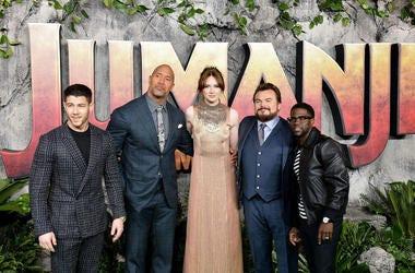 Cast Of Jumanji: Welcome To The Jungle