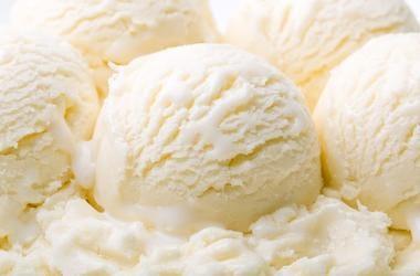 Vanilla, Ice Cream, Scoops