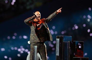Justin Timberlake at Super Bowl LII Half Time Show