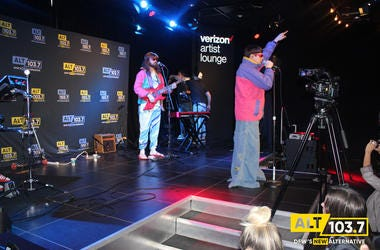 Oliver Tree Live At Verizon Artist Lounge