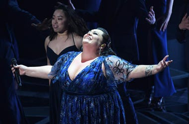 Keala Settle, 90th Academy Awards, Singing, Performance, The Greatest Showman