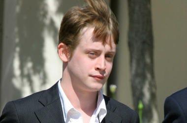 Macaulay Culkin, Serious, Short Hair