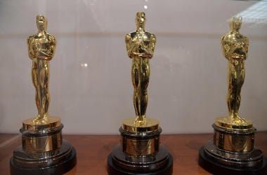 Academy Awards, Oscars, Statue, Trophy, Display, 2018