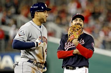 Anthony Rendon and George Springer