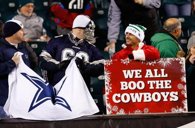 Cowboys and Eagles Fans
