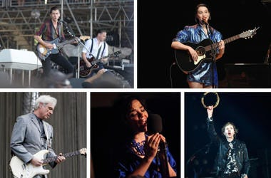Arctic Monkeys, St. Vincent, Beck, Bjork, David Byrne