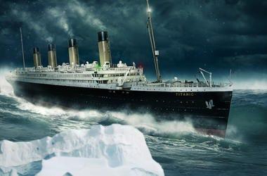 Titanic, Atlantic, Iceberg