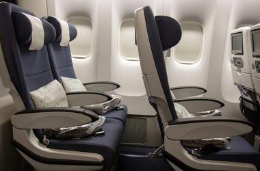 Empty, Plane, Row, Seats