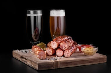 Sausage, Beer