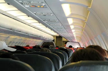 Airplane, Cabin, Passengers, Flight