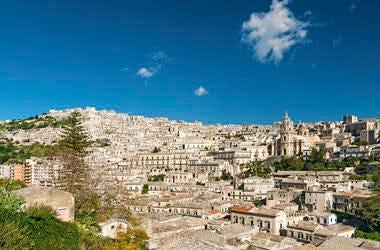 Italy, Sicily, Neighborhood, Traditional Houses