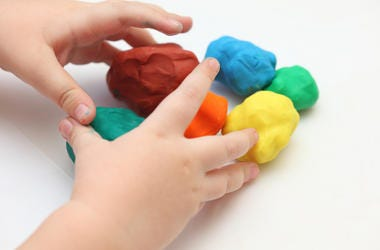 Child, Hands, Play Doh