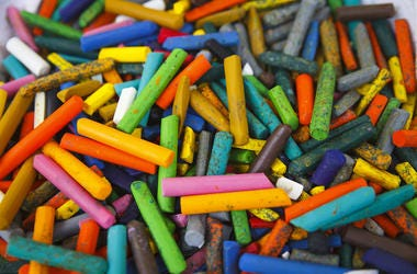 Crayons, Colorful