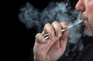 Vaping, Smoke, E-Cigarette, Man Smoking
