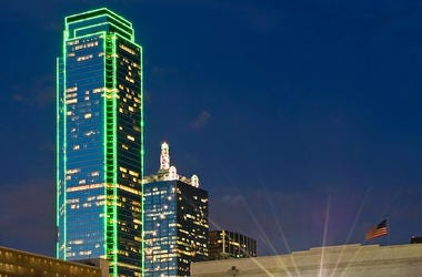 Dallas, Skyline, Bank of America, Building, Plaza