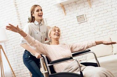 Grandma in a Wheelchair