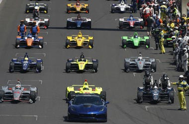 Detroit Grand Prix Starting Line