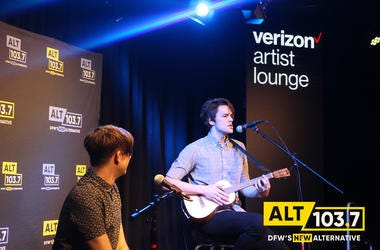iDKHOW Live At The Verizon Artist Lounge At ALT 103.7 Studios