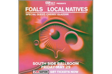 ALT 103.7 Presents Local Natives & Foals