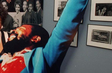 Marvin Gaye, Cardboard Cutout, Exhibition, 1995