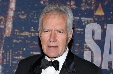 Alex Trebek, Red Carpet, Saturday Night Live, SNL, 40th Anniversary, 2015