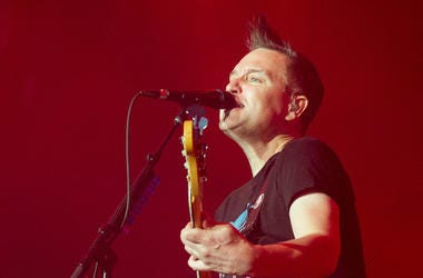 Mark Hoppus, Blink-182, Bass Guitar, Singing, The Forum, 2016