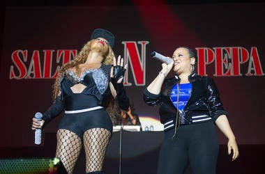 Salt N Pepa, Concert, Sandra Denton, Cheryl James, Arena Birmingham, United Kingdom, 2017