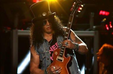 Slash, Guns N Roses, Concert, Live, Guitar, Madison Square Garden, 2017