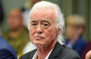 Jimmy Page, Court, Courtroom, Town Hearing, Suit, 2018