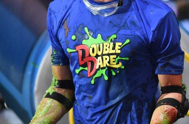 Double Dare, Shirt, Slime, Nickelodeon, Goggles