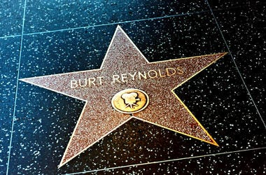 Burt Reynolds Star on the Hollywood Walk of Fame