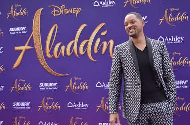 Will Smith, Red Carpet, Aladdin, Smile, Suit, Premiere, Los Angeles, 2019