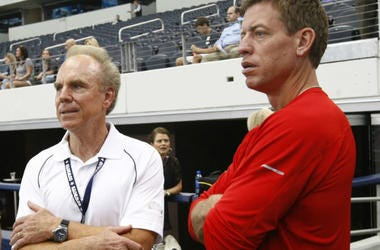 Troy Aikman and  Roger Staubach