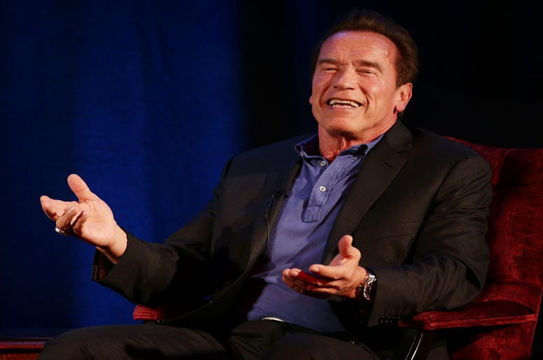 Video Of Arnold Schwarzenegger Rapping In New Song By