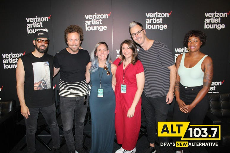 Fitz And The Tantrums Meet & Greet At The Verizon Artist Lounge