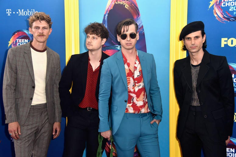 Foster the People at the 2018 Teen Choice Awards