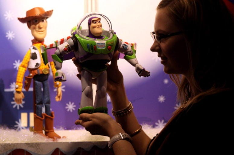 Woody and Buzz From Toy Story