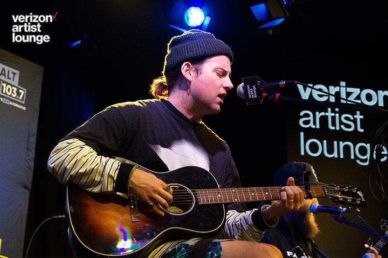 Judah & The Lion At The Verizon Artist Lounge